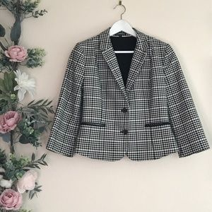 Express blazer checkered